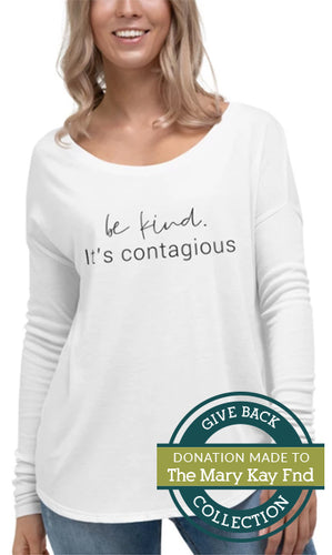 Be Kind. It's Contagious | Long Sleeve