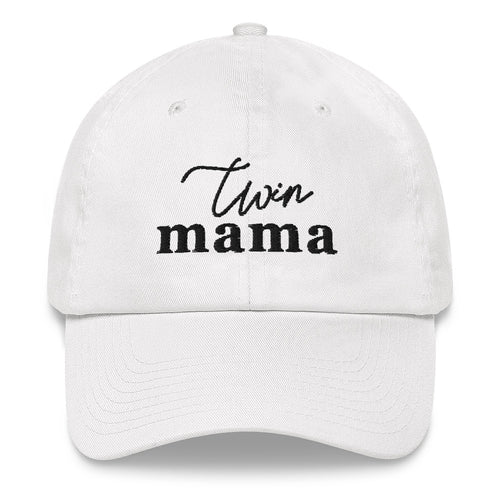 Twin Mama | Embroidered Hat