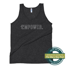 Load image into Gallery viewer, Empower | Tri-blend Tank Top