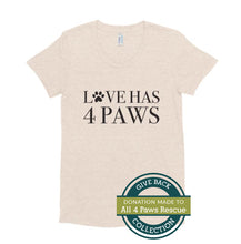 Load image into Gallery viewer, Love Has 4 Paws | Crew Neck T-shirt