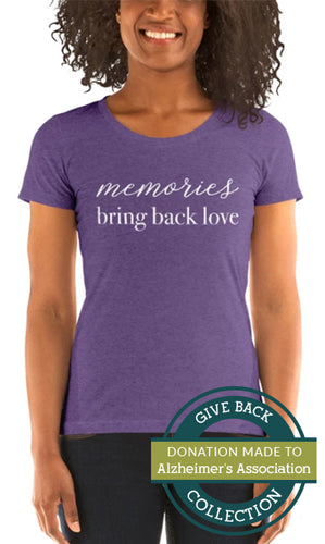 Memories Bring Back Love | Crew Neck T-shirt