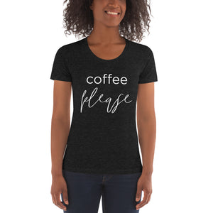 Coffee Please | Crew Neck T-shirt