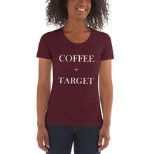 Load image into Gallery viewer, Coffee + Target | Crew Neck T-shirt