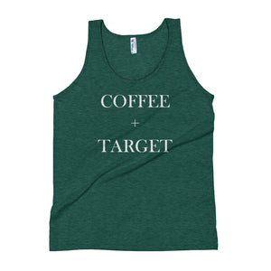 Coffee + Target | Tri-blend Tank Top