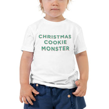 Load image into Gallery viewer, Christmas Cookie Monster | Toddler Tee