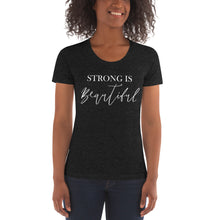 Load image into Gallery viewer, Strong is Beautiful | Crew Neck T-shirt