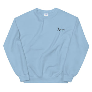 Nana | Embroidered Crew Neck Sweatshirt