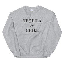 Load image into Gallery viewer, Tequila & Chill | Crew Neck Sweatshirt