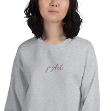 Load image into Gallery viewer, Joyful | Embroidered Crew Neck Sweatshirt