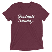 Load image into Gallery viewer, Football Sunday | Tri-blend T-Shirt