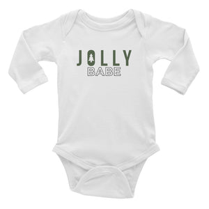 Jolly Babe | Baby Long Sleeve Onesie