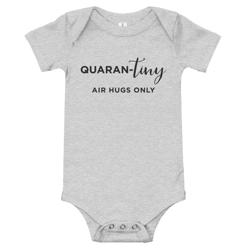 Quaran-tiny Air Hugs Only | Baby Onesie