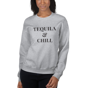 Tequila & Chill | Crew Neck Sweatshirt
