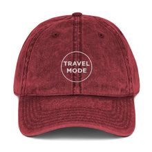 Load image into Gallery viewer, Travel Mode | Embroidered Vintage Cotton Twill Hat