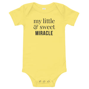 My little & sweet miracle | Baby Onesie
