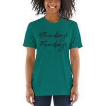 Load image into Gallery viewer, Sunday Funday | Tri-blend T-Shirt