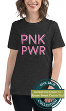 Load image into Gallery viewer, Pnk Pwr | Relaxed T-Shirt