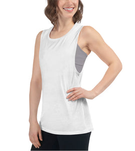 Work Out to Wine Out | Fitness Muscle Tank