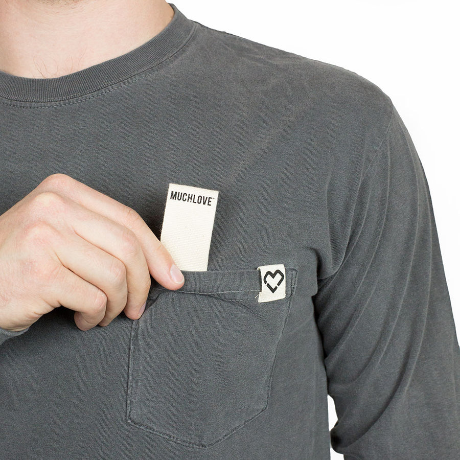 #FrocketPower Charcoal - Long Sleeve