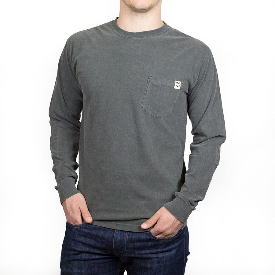 Frocket Power Charcoal - Long Sleeve
