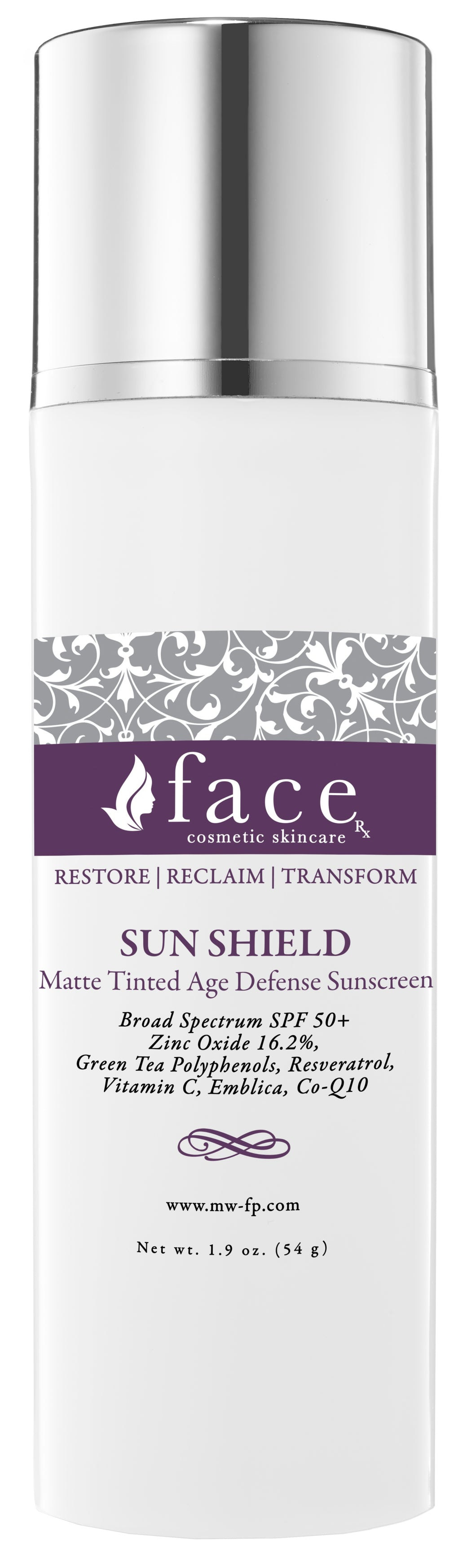 SUN SHIELD  Tinted  SPF 50