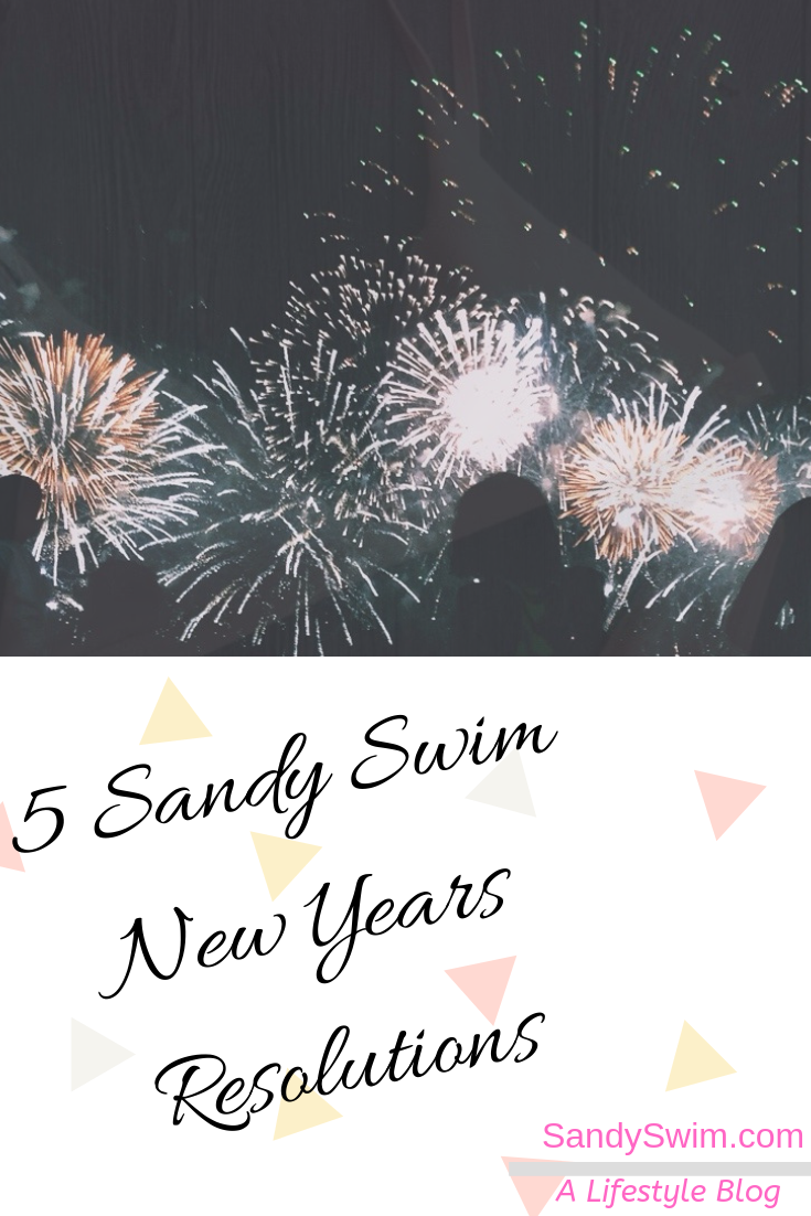 5 Sandy Swim New Years Resolutions