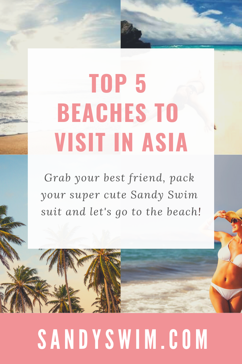 Top 5 Beaches to Visit in Asia ⛱️🌴