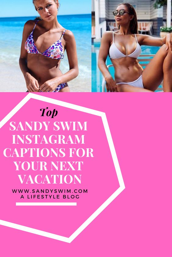 Top Sandy Swim Instagram Captions For Your Next Vacation