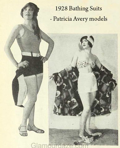 1920 ladies swimsuit