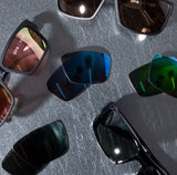 Spy Optic Cyrus and Rocky with replacement lenses