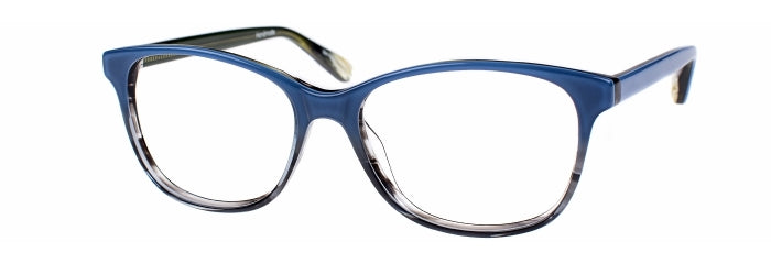 Odette prescription glasses frame in blue gradient