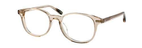 Quinn prescription glasses frame in champagne side view