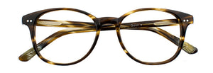 Quinn prescription glasses frame in dark olive tortoise