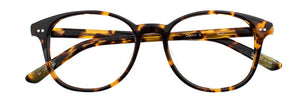 Quinn prescription glasses frame in dark tortoise