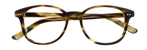 Quinn prescription glasses frame in matte olive tortoise