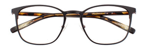 Serge prescription glasses frame in matte black