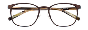 Serge prescription glasses frame in matte chocolate