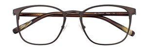 Serge prescription glasses frame in matte dark espresso