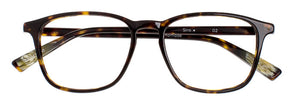 Siro prescription glasses frame in dark tortoise