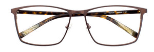 Stephen prescription glasses frame in matte chocolate
