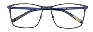Stephen prescription glasses frame in matte dark blue