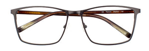 Stephan prescription glasses frame in matte dark espresso