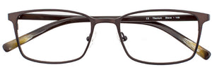 Steve prescription glasses frame in matte cinnamon