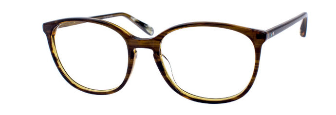Tammy prescription glasses in dark olive tortoise