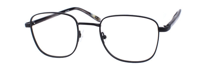 Tobias prescription glasses frame in smoke
