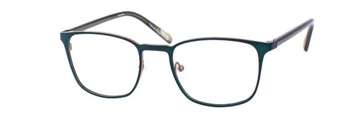 Ulf prescription glasses frame in green khaki