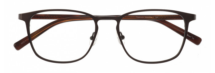 Valentin prescription glasses frame in gunmetal and stone grey