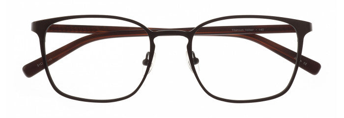 Volker prescription glasses frame in gunmetal and stone grey