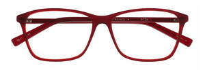 Waverly prescription glasses frame in satin red