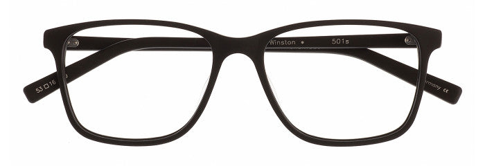Winston prescription glasses frame in matte black